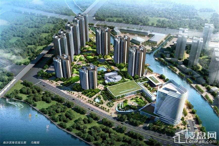 越秀滨海悦城鸟瞰图