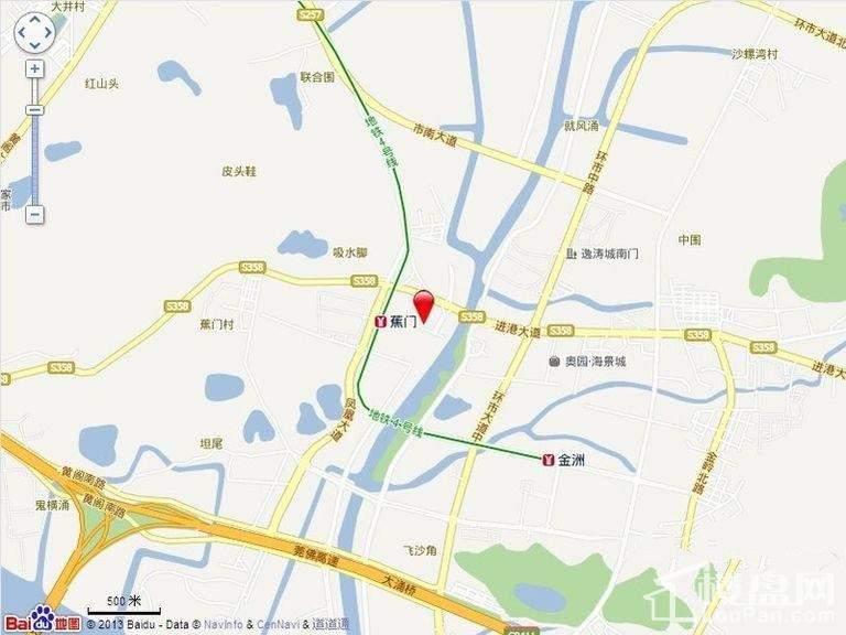 中惠国际金融中心位置图