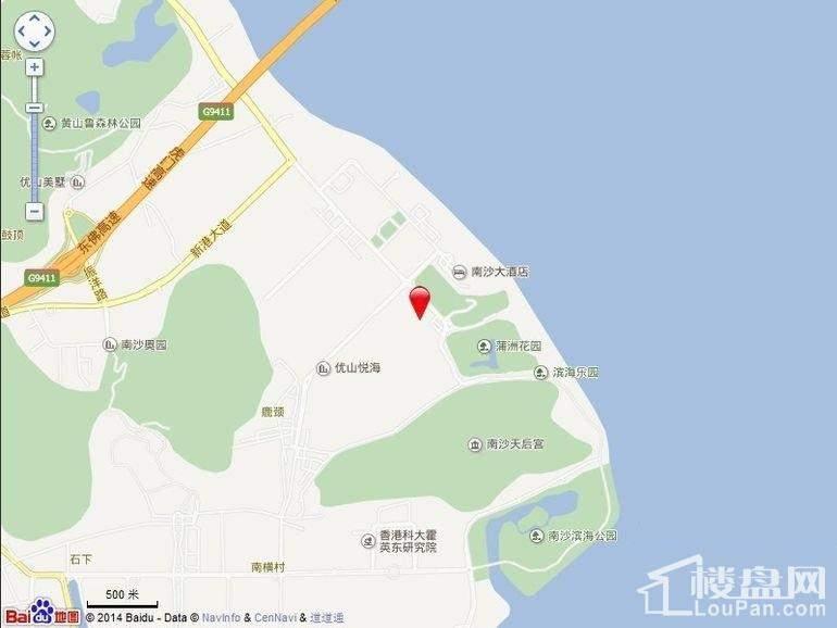 广州星河山海湾位置图
