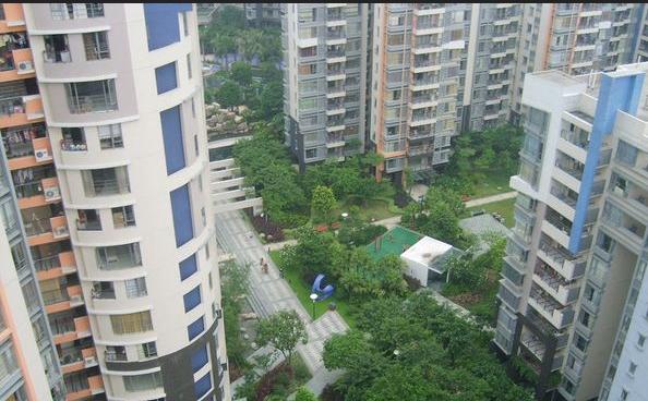 万科城市花园效果图