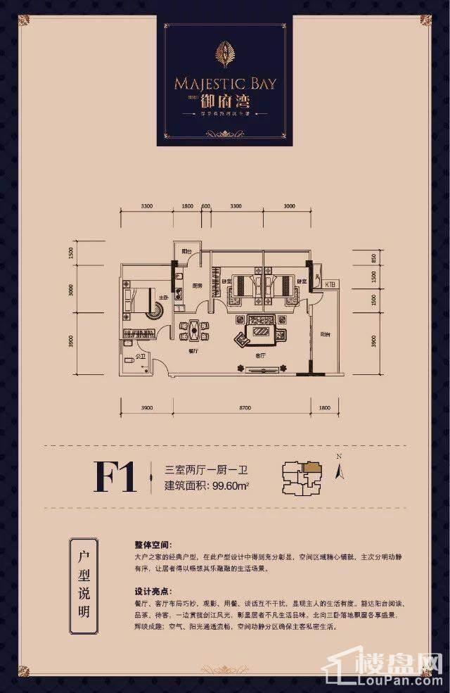 F1户型图