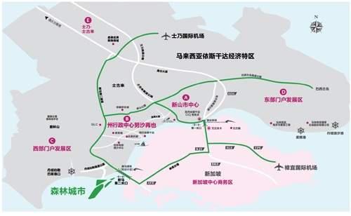 碧桂园森林城市位置图
