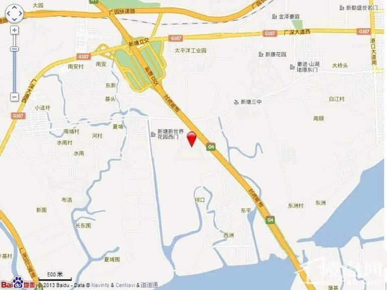 尚东·We家位置图