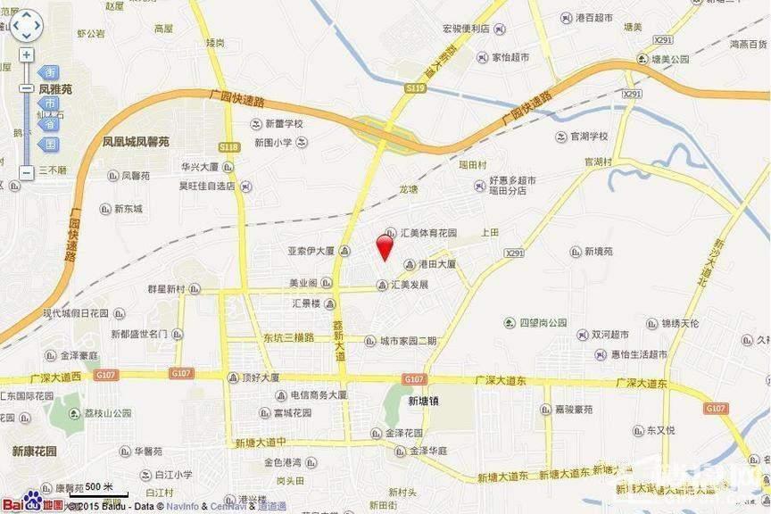 景新豪苑位置图
