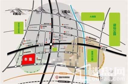 元顺·锦绣华庭位置图