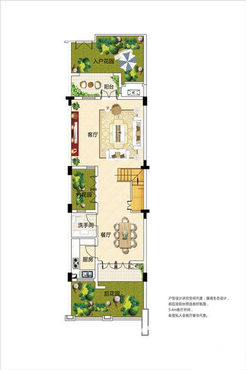 别墅户型-A4-A1