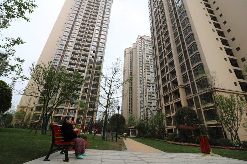 隆鑫·港湾国际-滨江商业街实景图