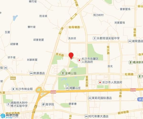 广泰锦苑位置图