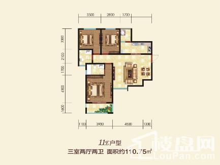11号楼E户型