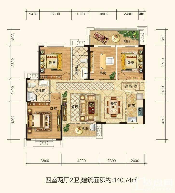 尚格名城户型图