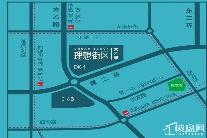 华龙太乙城位置图