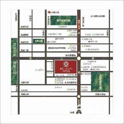 名京·九合院位置图