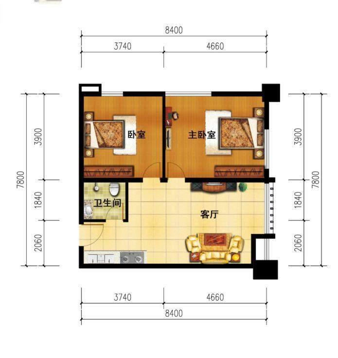 1#楼两.房改造装修建议图