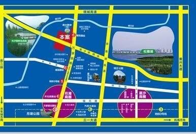 荣盛花语城位置图