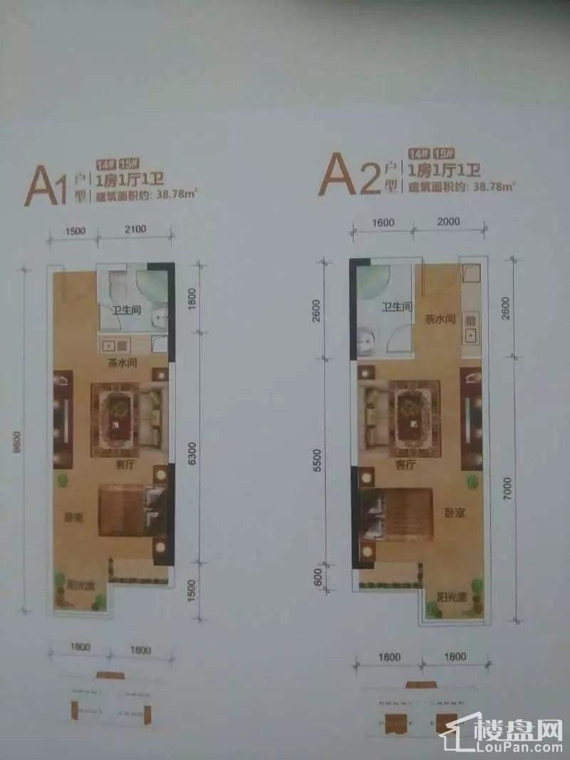 14#/15#:A1、A2户型