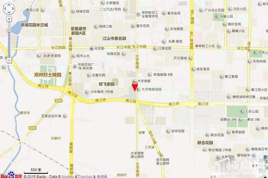 长隆广场位置图