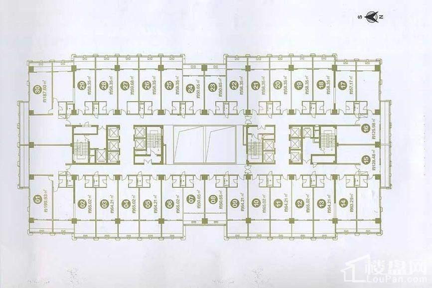 长隆广场户型图