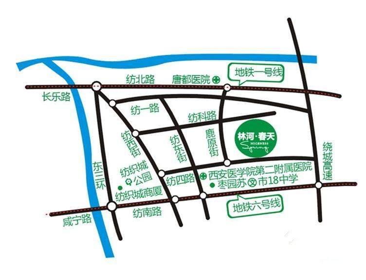 林河春天位置图