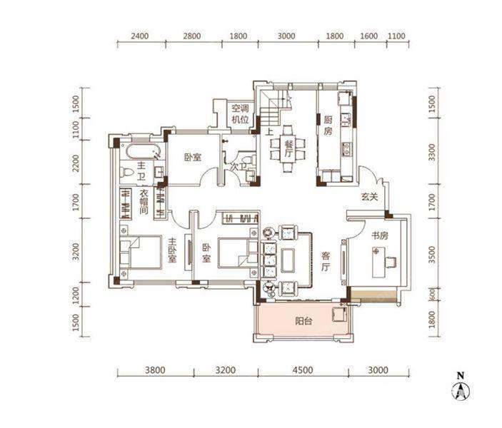 户型图 A1 501