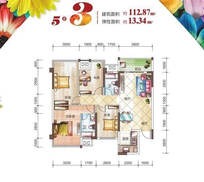 5#楼3户型
