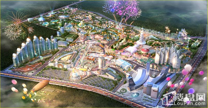 贵州乐华城位置图