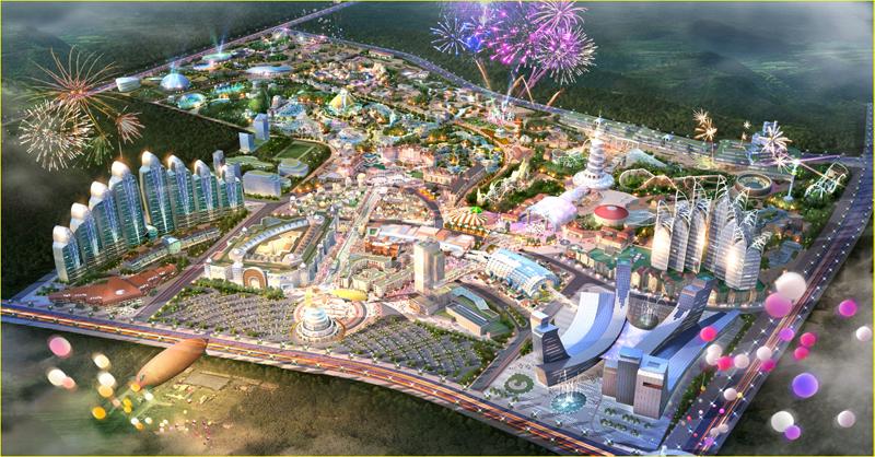 贵州乐华城效果图