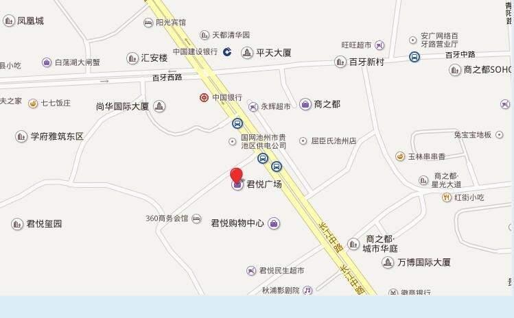 君悦玺园位置图