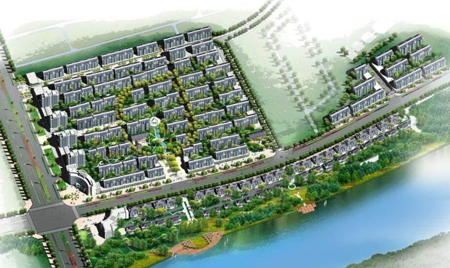 池州浦西新城高清图