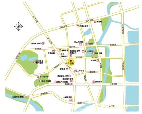 赛博数码生活广场位置图