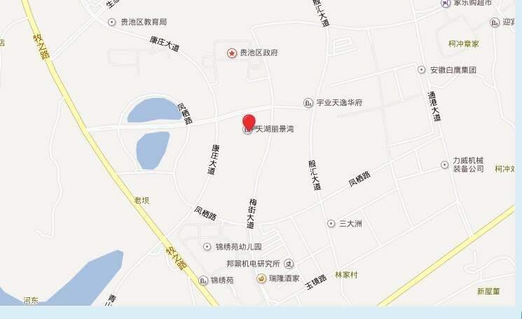 天湖丽景湾位置图