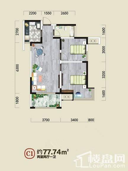 金泰·新理城 户型图