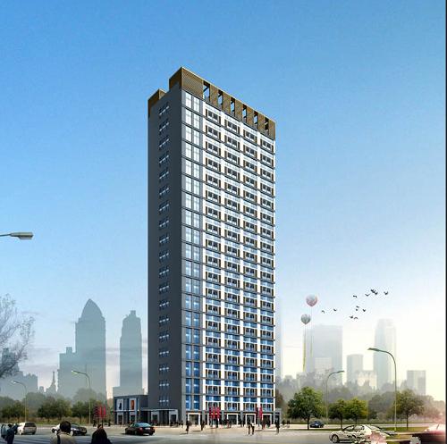广天国际公寓效果图