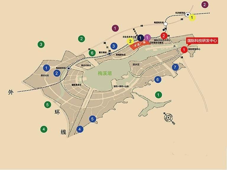 金茂广场位置图