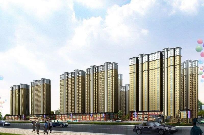 香缤国际城 效果图