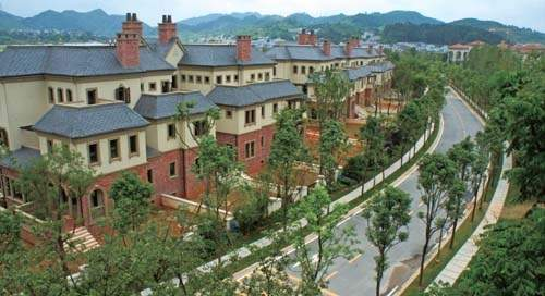 乐湾国际城实景图