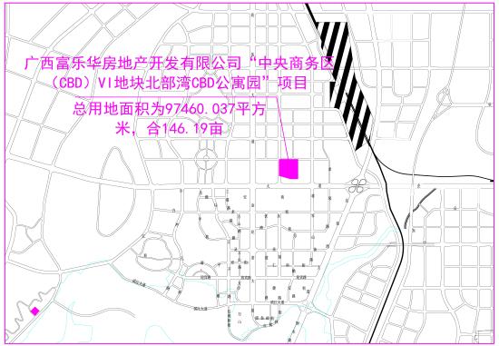 CBD公寓园(6号地块)位置图