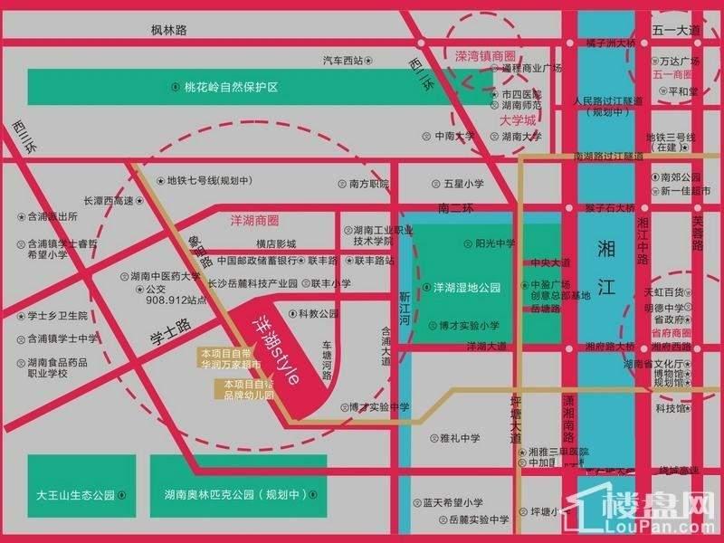洋湖时代广场位置图