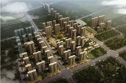 浩华香颂国际城效果图