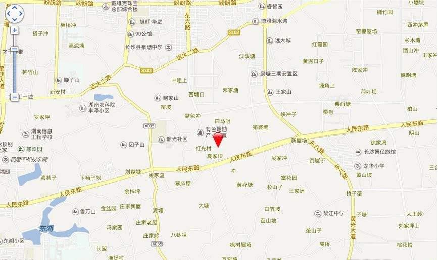 长沙科技新城位置图