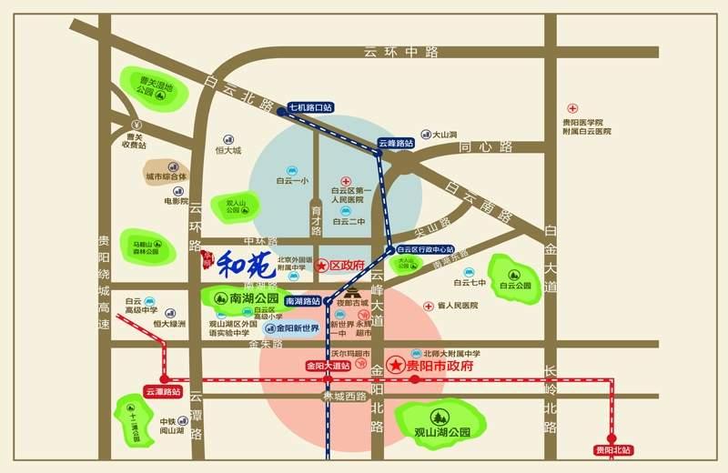 华颐和苑位置图