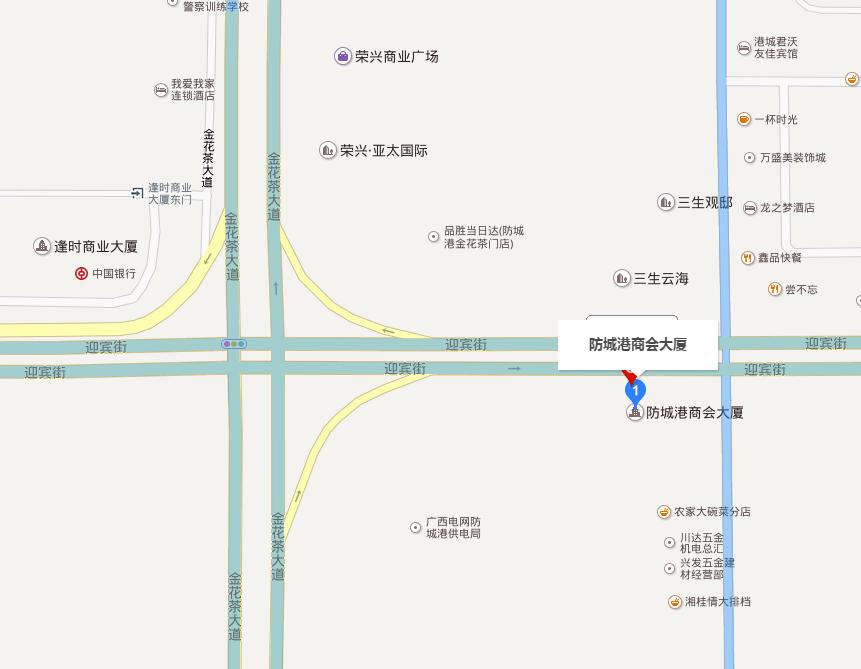 商会大厦位置图