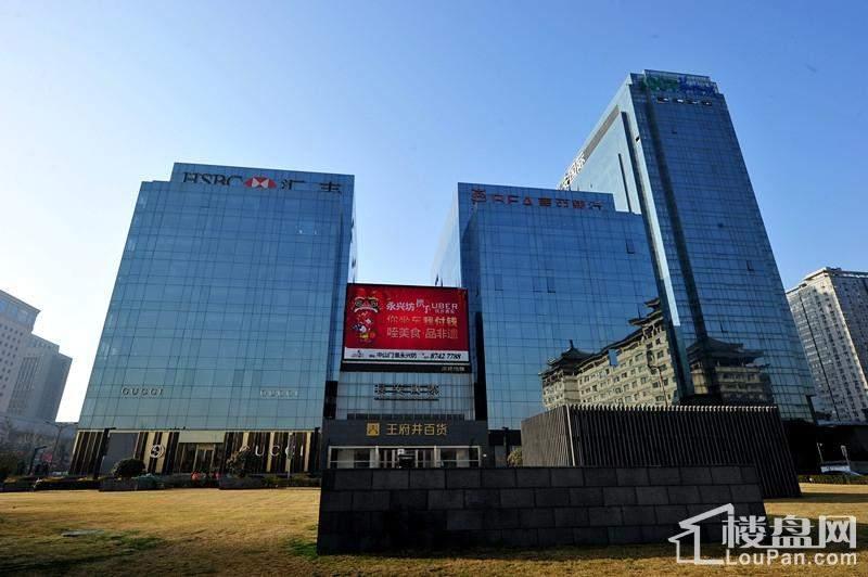 华侨城·长安国际实景图