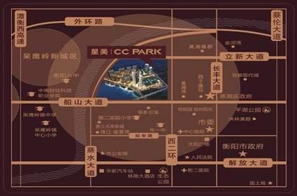 星美CC PARK·新外滩位置图