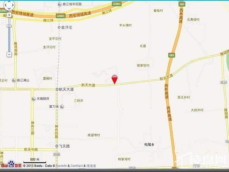 大华曲江公园世家位置图