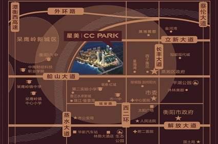 星美CC PARK·奥莱小镇位置图