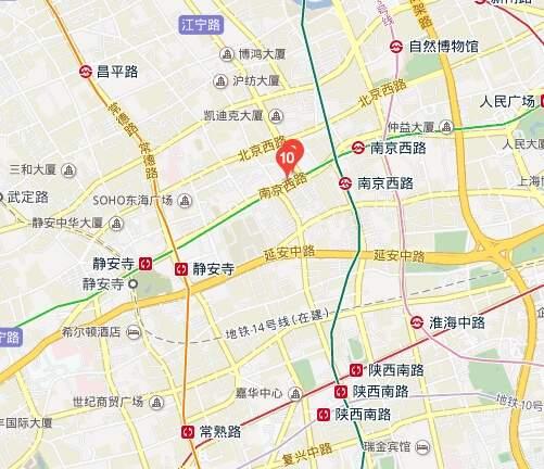 中信广场位置图