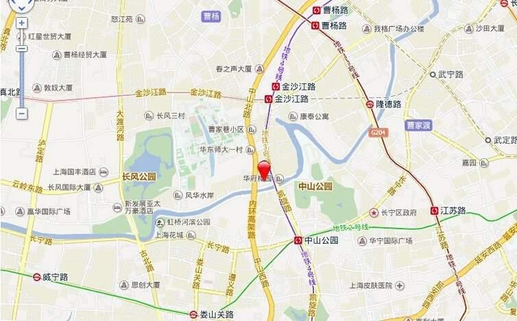 中山润园位置图
