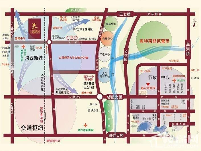 滨西锦绣城位置图