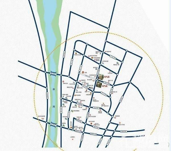 锦悦汇位置图