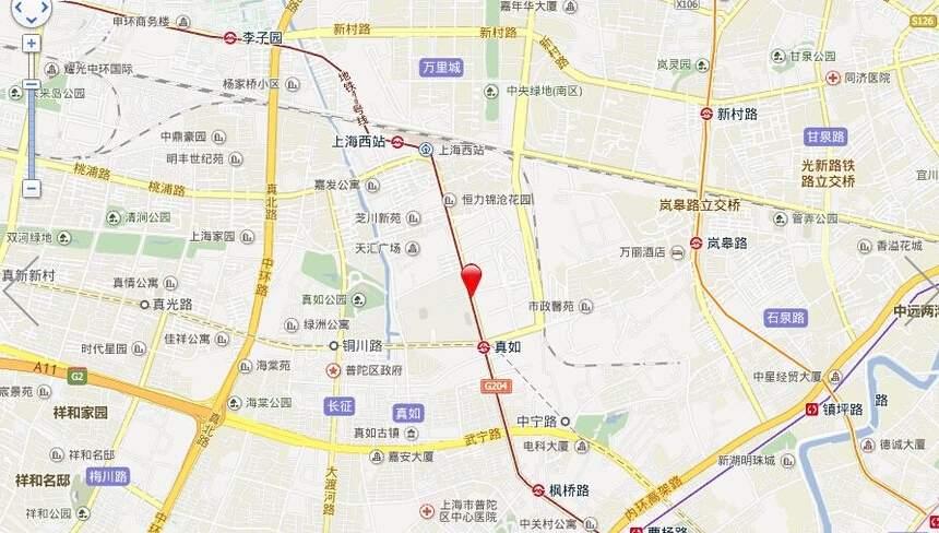 高尚领域行政公馆二期位置图